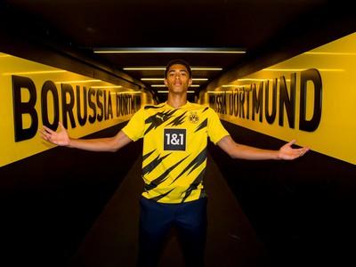 Jude Bellingham sa upísal Dortmundu
