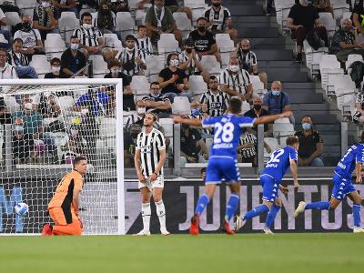 Leonardo Mancuso strieľa gól