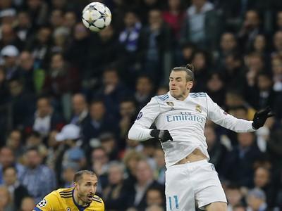 Gareth Bale a Giorgio Chiellini