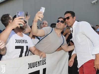 Gigi Buffon prišiel na