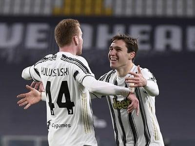 Radosť futbalistov Juventusu