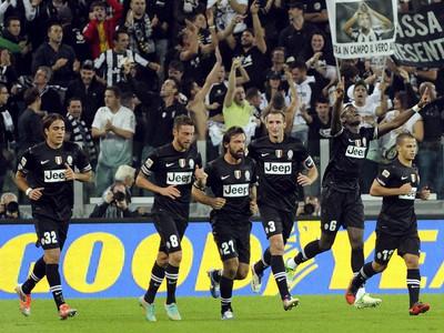 Futbalisti Juventusu Turín po