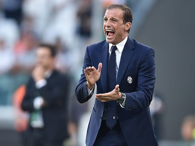 Kouč Juventusu - Massimiliano