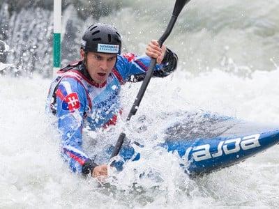 Vodný slalomár Jakub Grigar