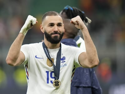 Francúzsky futbalista Karim Benzema