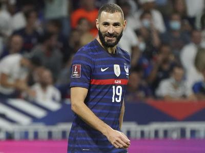 Karim Benzema v národnom drese