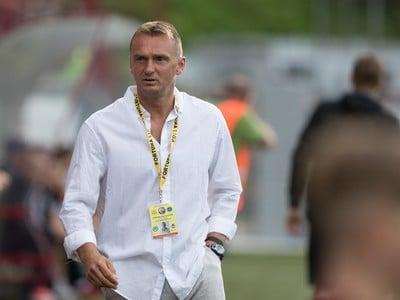 Na snímke tréner Podbrezovej