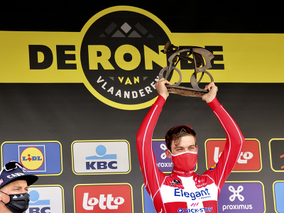 Dánsky cyklista Kasper Asgreen
