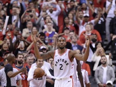 Hráč Toronto Raptors Kawhi Leonard