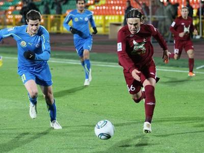 Momentka zo zápasu Kazaň