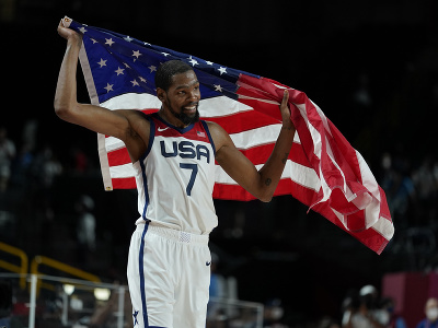 Americký basketbalista Kevin Durant