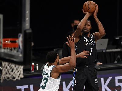 Hráč Brooklynu Nets Kevin