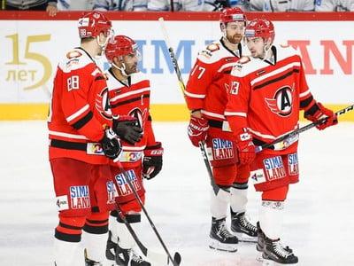 Víťazná séria hokejistov Jekaterinburgu