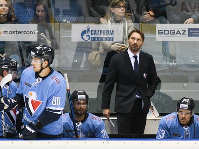 Vladimír Orzságh na lavičke