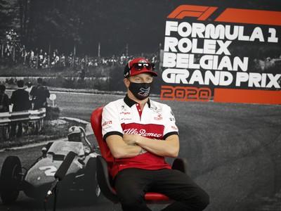 Fínsky pretekár Kimi Räikkönen