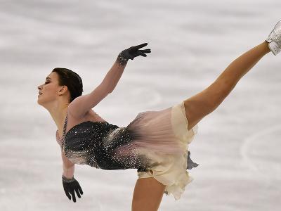 Ruská krasokorčuliarka Anna Ščerbakovová