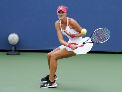 Kristina Mladenovicova počas US