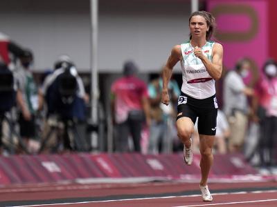Na snímke bieloruská atlétka