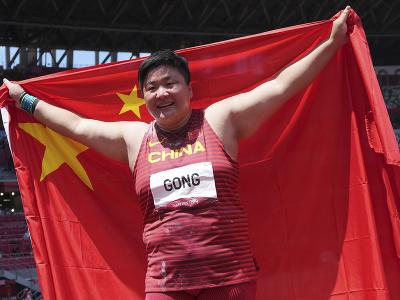 Čínska atlétka Kung Li-ťiao