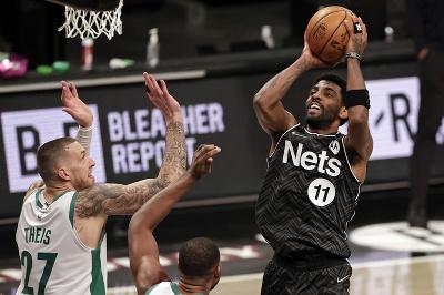 Hráč Brooklyn Nets Kyrie