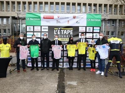 Predstavenie nových cyklistických pretekov pre verejnosť L' Etape Slovakia by Tour de France