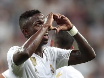 Vinícius Júnior a jeho gólové oslavy