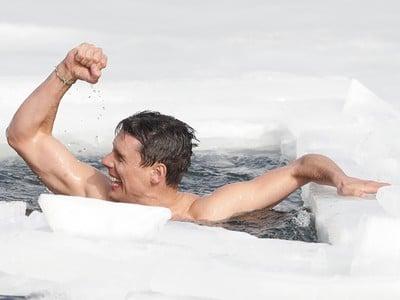 David Vencl utvoril nový svetový rekord v plávaní pod ľadom