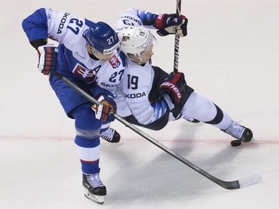 Hokejista Ladislav Nagy (vľavo)
