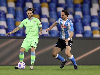 Fabian Ruiz a Luis Alberto v súboji