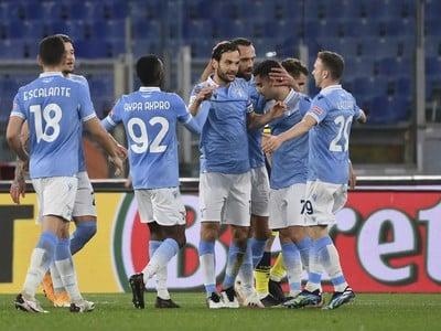 Marco Parolo a jeho gólové oslavy so spoluhráčmi