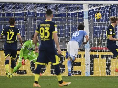 Marco Parolo dáva gól