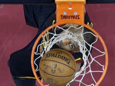 Hráč Clevelandu Cavaliers LeBron