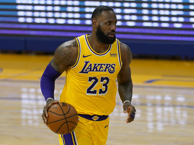 Hráč Lakers LeBron James