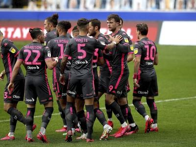 Hráči Leedsu sa radujú