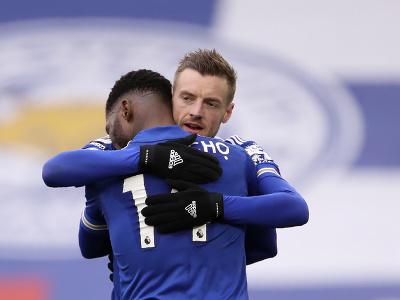 Hráči Leicesteru sa radujú