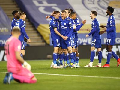 Radosť futbalistov Leicesteru