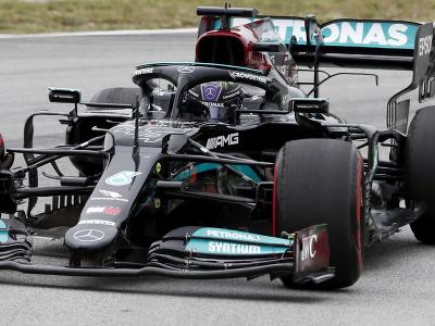Lewis Hamilton na Veľkej