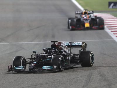 Lewis Hamilton a za