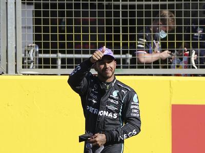 Lewis Hamilton po kvalifikačnom šprinte