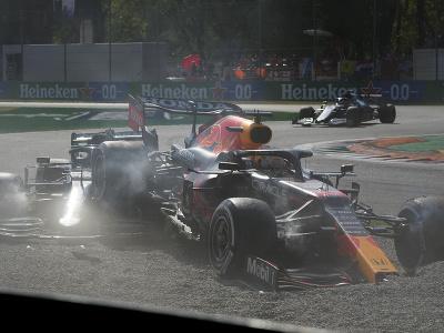 Max Verstappen a Lewis
