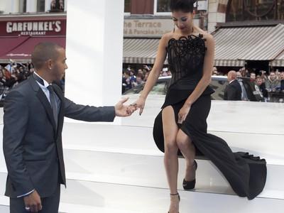 Lewis Hamilton a Nicole