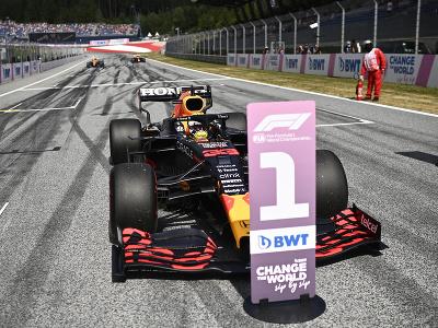 Max Verstappen na prvej