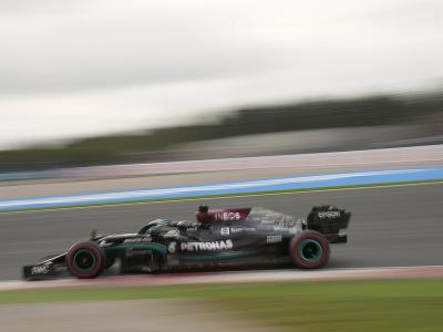 Lewis Hamilton počas kvalifikácie