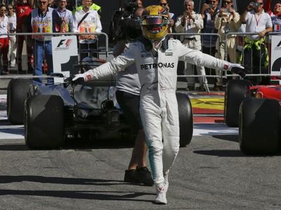 Lewis Hamilton a jeho