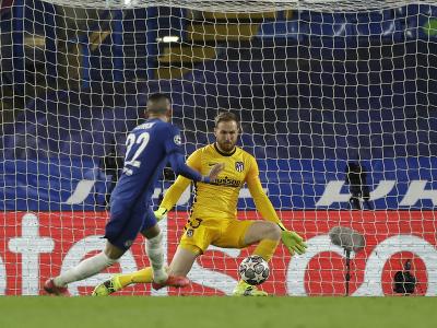 Hakim Ziyech strieľa gól