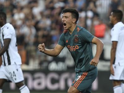 Lisandro Martinez a jeho gólová radosť