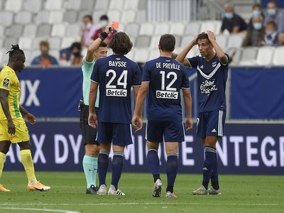 Futbalisti Girondins Bordeaux