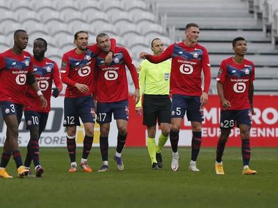 Radosť futbalistov Lille OSC