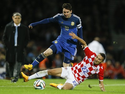 Lionel Messi a Marin