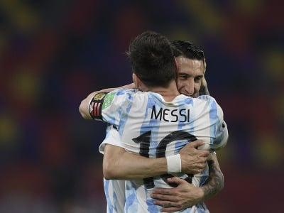 Lionel Messi a Angel